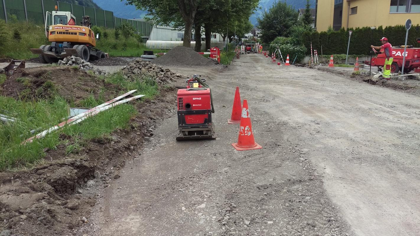 Projekt Strasse Stansstad